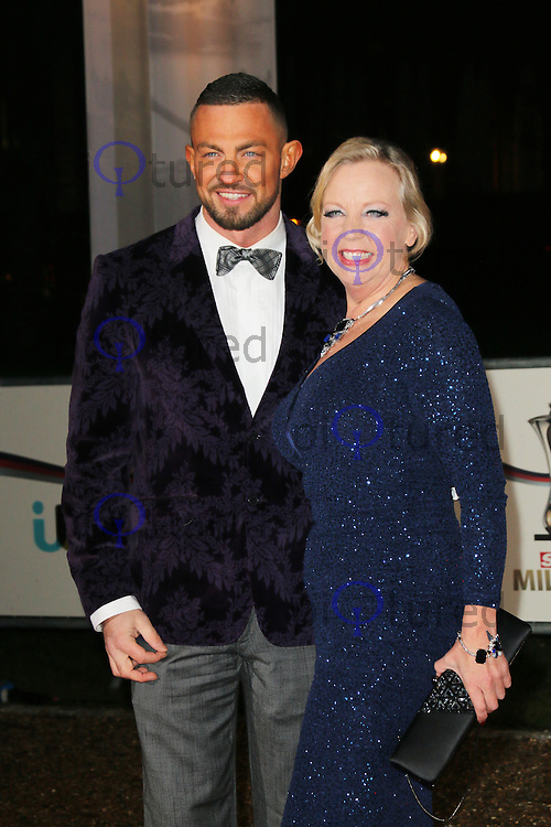 Robin Windsor; Deborah Meaden, A Night Of Heroes: The Sun Military Awards, National Maritime Museum, London UK, 11 December 2013, Photo by Richard Goldschmidt