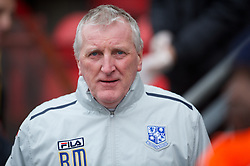 LONDON, ENGLAND - Saturday, February 9, 2013: Tranmere Rovers' manager Ronnie Moore before the Football League One match against Leyton Orient at Brisbane Road. (Pic by David Rawcliffe/Propaganda)