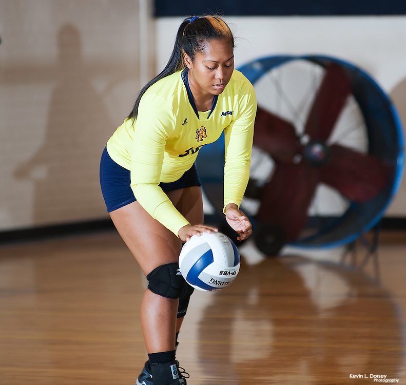 2015 A&T Volleyball vs Campbell