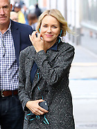 New York - Naomi Watts On Set Of Gypsy TV Show