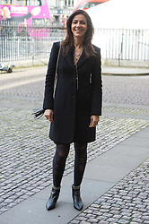 © Licensed to London News Pictures. 24/11/2016. JULIA BRADBURY attends a Service of Thanksgiving at Westminster Abbey to celebrate the Diamond Anniversary of The Duke of Edinburgh's Award (DofE). London, UK. Photo credit: Ray Tang/LNP