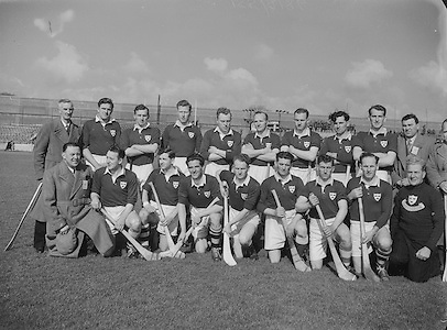 1953.155/2185-2186.17031953IPHCF.17.03.1953.17. March 1953.17. Mar 1953.Interprovincial Railway Cup Hurling Championship - Final..Munster.5-7.Leinster.5-5...Munster Team...A. Reddan (Tipperary), J. Goode (Waterford), J. Doyle (Tipperary), A. OShaughnessy (Cork), S. Herbert (Limerick), P. Stakelum (Tipperary), D. OGrady (Clare), G. Murphy (Cork), P. Shanahan (Tipperary), M. Nugent (Clare), W. J. Daly (Cork), S. Bannon, P. Kenny (Tipperary), D. McCarthy (Limerick), C. Ring (Cork).Subs: M. Queally (Waterford) for A. OShaughnessy, P. Barry (Cork) for C. Ring.Munster.D. Roche (Cork), J. Murphy, E. Roche, J. O'Shea (Kerry), P. O'Driscoll (Cork), J. Cronin, C. Kennelly, B. O'Shea (Kerry), D. Kelleher, D. O'Donovan (Cork), T. Lyne (Kerry), W. Kirwan (Waterford), M. Cahill (Cork), S. Kelly (Kerry), P. Brennan (Tipperary).Sub: F.Meany (Clare) for B. O'Shea. . .Hurling..(Names are not in order left-right).......................................................................................................................................................................................................................................................................................................................................................................................................................................................................................................................................................................................................................................................................................................................................................................................................................................................................................................................................................................................................................................