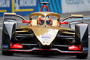 Jean- Eric Vergne during Qualifying session ahead of the Julius Bär Formula E race in the swiss capital Bern.
