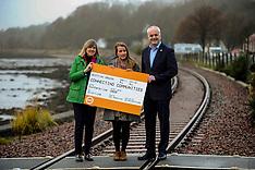 Greens launch train line petition, Culross, 27 November 2019
