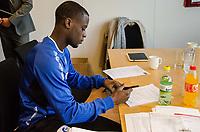 Fotball<br /> 29.02.2016<br /> Foto: Marius Simensen/Digitalsport<br /> <br /> Edwin Gyasi - ny spiller i Aalesund
