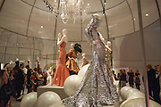 Ballgowns: British Glamour Since 1950, Sponsored by Coutts. V and A Museum. South Kensington. London.  15 May 2012.