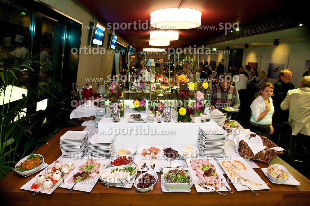 07.09.2010, Red Bull Arena, Salzburg, AUT, UEFA 2012 Qualifier, Austria vs Kazakhstan, im Bild VIP Lounge, Übersicht, EXPA Pictures © 2010, PhotoCredit: EXPA/ G. Groder / SPORTIDA PHOTO AGENCY