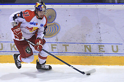 Daniel Koger (61) at ice hockey match Acroni Jesencie vs EC Red Bull Salzburg in EBEL League,  on November 23, 2008 in Arena Podmezaklja, Jesenice, Slovenia. (Photo by Vid Ponikvar / Sportida)