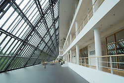 Interior of Science Park building in Gelsenkirchen in Germany