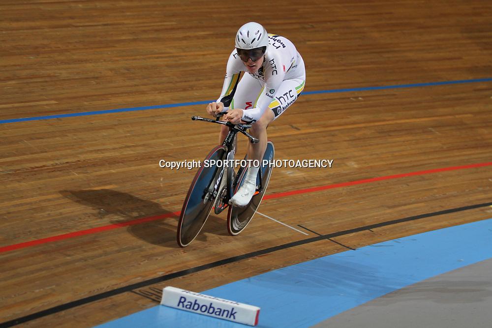 Ellen van Dijk NK baanwielrennen 2011 Apeldoorn Achtervolging