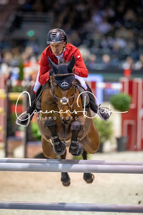 Schwizer Pius, SUI, Quatro Rubin<br /> Jumping International de Bordeaux 2020<br /> © Hippo Foto - Dirk Caremans<br />  08/02/2020