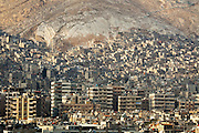 Damascus and the base of Mount Qassiun