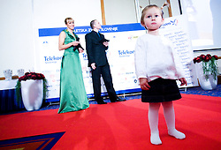 Pika, daughter of Alenka Bikar at Best Slovenian athlete of the year ceremony, on November 15, 2008 in Hotel Lev, Ljubljana, Slovenia. (Photo by Vid Ponikvar / Sportida)