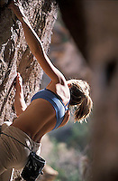 Bouldering in Bishop, CA.<br />