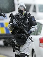 Napier-Police raid on possible clan lab, Taradale