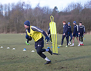 Craig Wighton of Dundee - Dundee FC training , Picture by David Young -
