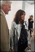 LEOPOLD VON BISMARK; DEBONNAIRE VON BISMARK, Opening of Frieze art Fair. London. 14 October 2014