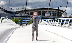 New Manchester City Manager Pep Guardiola poses for a portrait during his first press conference - Mandatory by-line: Robbie Stephenson/JMP - 08/07/2016 - FOOTBALL - Manchester City Training Campus - Manchester, England - Pep Guardiola's debut press conference as manager of Manchester City