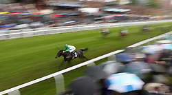 Full Authority ridden by Daniel Tudhope on their way to victory in the British Stallion Studs EBF Maiden Stakes during Boodles Ladies Day at Chester Racecourse.