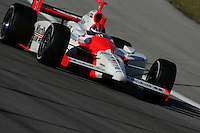 Helio Castroneves at the Homestead-Miami Speedway, Toyota Indy 300, March 6, 2005