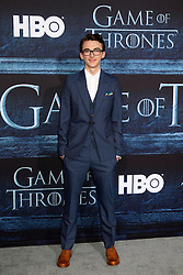 Isaac Hempstead Wright at the Game of Thrones Season 6 Premiere Screening at the TCL Chinese Theater IMAX on April 10, 2016 in Los Angeles, CA. EXPA Pictures © 2016, PhotoCredit: EXPA/ Photoshot/ Kerry Wayne<br /> <br /> *****ATTENTION - for AUT, SLO, CRO, SRB, BIH, MAZ, SUI only*****