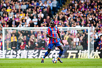 LONDON, ENGLAND - MAY 13: Mamadou Sakho (12) of Crystal Palace during the Premier League match between Crystal Palace and West Bromwich Albion at Selhurst Park on May 13, 2018 in London, England. MB Media