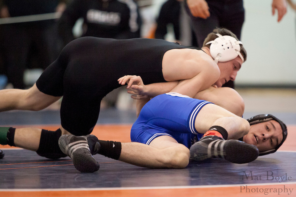 District 30 Wrestling Semi-finals at Overbrook High School on February 18, 2012. (photo / Mat Boyle)