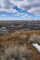 Eastern overlook of the wetlands in Arapaho National Wildlife Refuge. Image four of seven taken with a Nikon D3 camera and 14-24 mm f/2.8 lens (ISO 200, 23 mm, f/16, 1/200 sec). Panorama composed using Auto Pano Giga Pro.