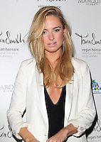 LONDON - SEPTEMBER 26: Kimberley Garner attended the launch party for Tara Smith Haircare at Sketch, London, UK. September 26, 2012. (Photo by Richard Goldschmidt)