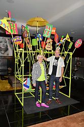 MORAG MYERSCOUGH and LUKE MORGAN at a dinner at The Bulgari Hotel, 171 Knightsbridge to celebrate The London Design Festival on 13th September 2016.