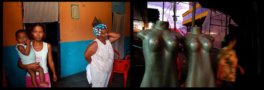 DAILY VENEZUELA II / VENEZUELA COTIDIANA II<br /> Photography by Aaron Sosa <br /> <br /> Left: Macuro, Sucre State - Venezuela 2007 / Macuro, Estado Sucre - Venezuela 2007<br /> <br /> Right: Maniquies en la Calle, La Victoria, Aragua State - Venezuela 2008 / Street mannequin, La Victoria, Estado Aragua / Venezuela 2008<br /> <br /> (Copyright &copy; Aaron Sosa)