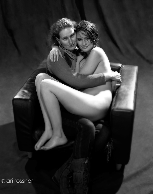 Alexandra Camarty, Model sitting on her mother