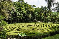 Labirinto no Parque Malwee. Jaraguá do Sul, Santa Catarina, Brasil. / Labyrinth at Malwee Park. Jaragua do Sul, Santa Catarina, Brazil.