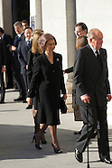 031114 Spanish Royals attends  the 10th annivrsary of the of the terrorist attacks of March 11, 2004