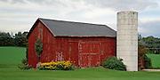 Barn in Michigan, near Bruce Hartley's house.