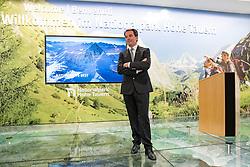 11.11.2016, Lienz, AUT, Einweihung Osttiroler Tourismushaus am Stegergarten, im Bild TVB Osttirol Obamnn Franz Theuerl. EXPA Pictures © 2016, PhotoCredit: EXPA/ Johann Groder