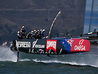 America's Cup 34<br /> Emirates Team New Zealand (NZL) challenger vs Oracle Racing (USA) defender<br /> 9.14.13 Race 8