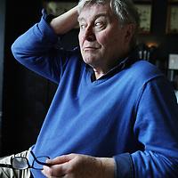 """Nederland, Amsterdam , 12 april 2013.<br /> Barrie Edward Stevens (Londen, 11 juni 1944) is een Engelse choreograaf, regisseur en acteur die in Nederland werkt en woont. Stevens is bekend geworden door de kinderseries Ja zuster, nee zuster (als Bobbie, een van de Jonkies) en Ti-ta-tovenaar (als tovenaarsleerling Kwark). Hij maakte in Nederland de spreuk """"Vooral doorgaan!"""" bekend als jurylid in de Soundmixshow. Stevens was lange tijd de levenspartner van Leen Jongewaard.<br /> Foto:Jean-Pierre Jans"""