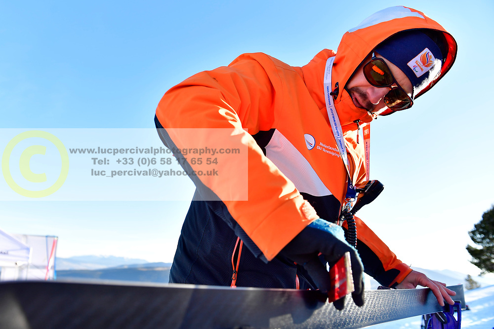 Behind the scenes, Giant Slalom at the WPAS_2019 Alpine Skiing World Cup, La Molina, Spain