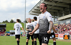 Jack Marriott of Peterborough United celebrates scoring his goal - Mandatory by-line: Joe Dent/JMP - 26/08/2017 - FOOTBALL - Sixfields Stadium - Northampton, England - Northampton Town v Peterborough United - Sky Bet League One