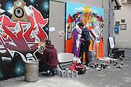 Meteor Camden Crawl Graffiti