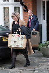 "© Licensed to London News Pictures. 02/11/2017. LONDON, UK.  DAMIAN GREEN, First Secretary of State and Minister for the Cabinet Office and his wife leaving his home in west London this morning. Prime Minister Theresa May's deputy, Damian Green has said allegations of inappropriate advances towards a female activist before he joined the cabinet are ""completely false"". Tory activist Kate Maltby has claimed that that Damian Green ""fleetingly"" touched her knee in a pub in 2015, and in 2016 sent her a ""suggestive"" text message.  Photo credit: Vickie Flores/LNP"