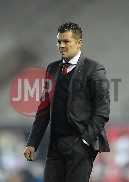 Bristol City manager, Steve Cotterill - Photo mandatory by-line: Dougie Allward/JMP - Mobile: 07966 386802 - 07/04/2015 - SPORT - Football - Bristol - Ashton Gate - Bristol City v Swindon Town - Sky Bet League One