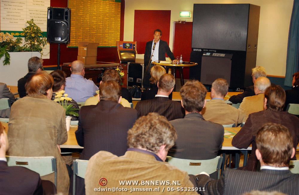 Lezing John van 't Schip Business Club Huizen, BCH, SV Huizen