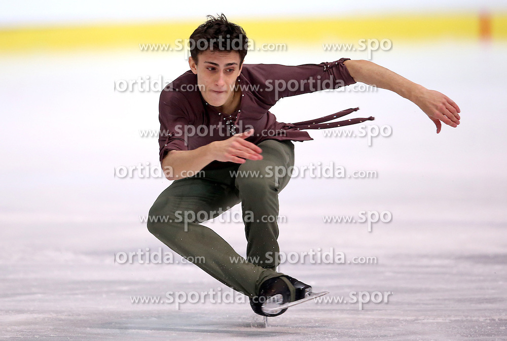 04.12.2015, Dom Sportova, Zagreb, CRO, ISU, Golden Spin of Zagreb, freies Programm, Herren, im Bild Mattia Dalla Torre, Italy. // during the 48th Golden Spin of Zagreb 2015 men Free Program of ISU at the Dom Sportova in Zagreb, Croatia on 2015/12/04. EXPA Pictures &copy; 2015, PhotoCredit: EXPA/ Pixsell/ Igor Kralj<br /> <br /> *****ATTENTION - for AUT, SLO, SUI, SWE, ITA, FRA only*****
