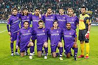 seizoen 2007 / 2008 ,  eindhoven 10-04-2008 psv - fiorentina 0-2 teamfoto fiorentina