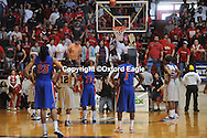 Mississippi vs. Florida at the Tad Smith Coliseum in Oxford, Miss. on Saturday, February 20, 2010 in Oxford, Miss. Florida won 64-61.