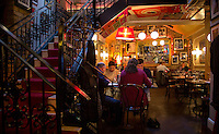 Dublin, Ireland - September 15, 2014: The Green Hen, which is covered floor to ceiling with posters from the golden age of cinema,  has made a name for itself serving French food with an Irish twist.  CREDIT: Chris Carmichael for the New York Times