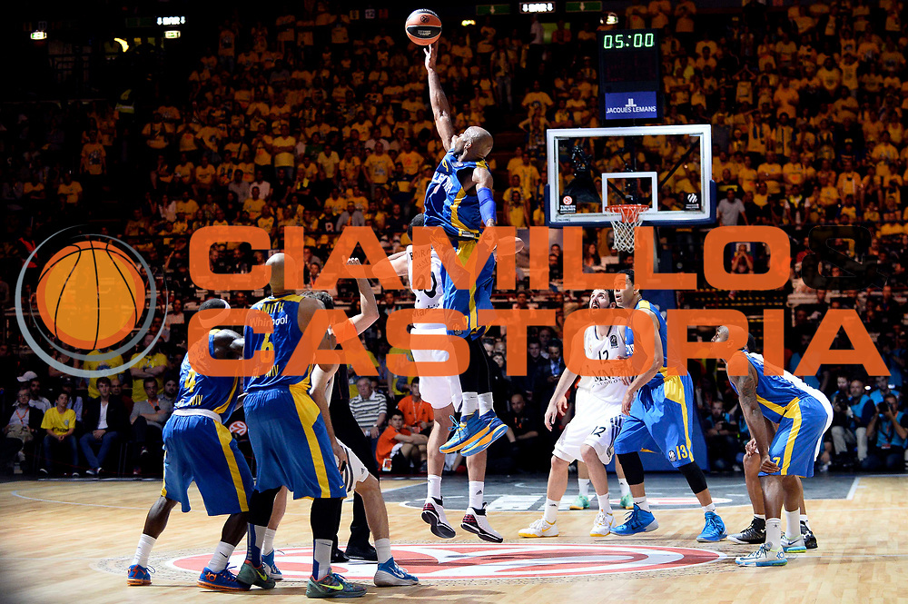 DESCRIZIONE : Milano Eurolega Eurolegue 2013-14 Final Four Final 1st 2nd place Finale 1 2 posto Maccabi Electra Tel Aviv Real Madrid<br /> GIOCATORE : Alex Tyus<br /> SQUADRA :&nbsp;Maccabi Electra Tel Aviv<br /> CATEGORIA : Contesa<br /> EVENTO : Eurolega 2013-2014<br /> GARA : Maccabi Electra Tel Aviv Real Madrid<br /> DATA : 18/05/2014<br /> SPORT : Pallacanestro<br /> AUTORE : Agenzia Ciamillo-Castoria/Max.Ceretti<br /> Galleria : Eurolega 2013-2014<br /> Fotonotizia : Milano Eurolega Eurolegue 2013-14 Final Four Final 1st 2nd place Finale 1 2 posto Maccabi Electra Tel Aviv Real Madrid<br /> Predefinita :