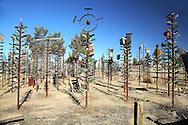 Located on Route 66, Oro Grande, California